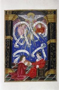 Elias Ashmole, Theatrum Chemicum Britannicum, vol. 1. MS Ashmole 971, f. 014v, s. xvii2. Credit: Bodleian Library, University of Oxford).