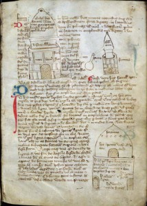 Glasgow University Library, MS Hunter 110 (T.5.12), s. xiv, f. 28r. By permission of University of Glasgow Library, Special Collections.