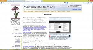 Figure 1. American Botanic Council monographs