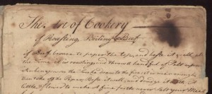 The Art of Cookery, 1760s |  Szathmary Culinary Manuscripts, University of Iowa Special Collections
