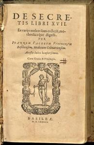 Universitätsbibliothek Basel, Lo VI 50: De secretis libri XVII. Image Credit: University Library Basel. © University Library Basel.