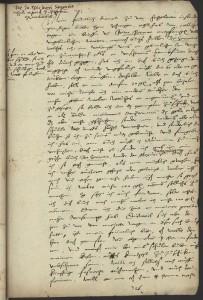 Universitätsbibliothek Basel, Frey-Gryn Mscr II 4: Nr.326: Brief an Theodor Zwinger. Image Credit: University Library Basel. © University Library Basel.