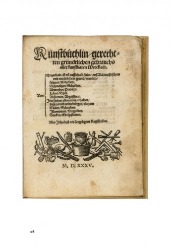 16th century recipe book