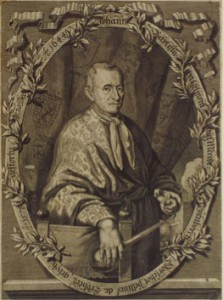 Portrait of Jan Baptista Van Helmont; frontispiece in J. B. van Helmont, Aufgang der Artzney-Kunst, translated by Christian Knorr von Rosenroth, Sulzbach 1683