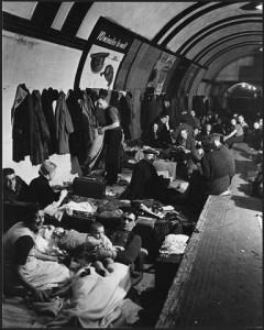 West End London Air Raid Shelter. Source: Franklin D. Roosevelt Library