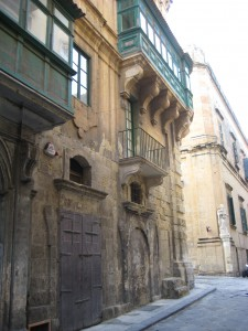 Valletta, near the site of the slaves' prison where Sellem lived (author's photo)