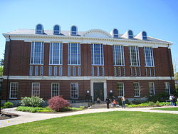 Arthur and Elizabeth Schlesinger Library on the History of Women in America.  Image courtesy of Wikipedia: http://en.wikipedia.org/wiki/Schlesinger_Library