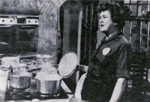 Julia Child at KUHT.  Image courtesy of Wikipedia.  http://en.wikipedia.org/wiki/Julia_Child#/media/File:Julia_Child_at_KUHT.jpg