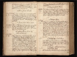 Image credit: Wellcome Library, London, Lady Ann Fanshawe, Recipe Book, MS 7113.