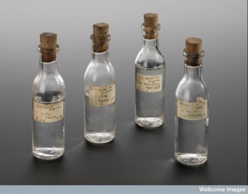 Bottle of medicinal water, France, 1928 Credit: Science Museum, London. Wellcome Images.