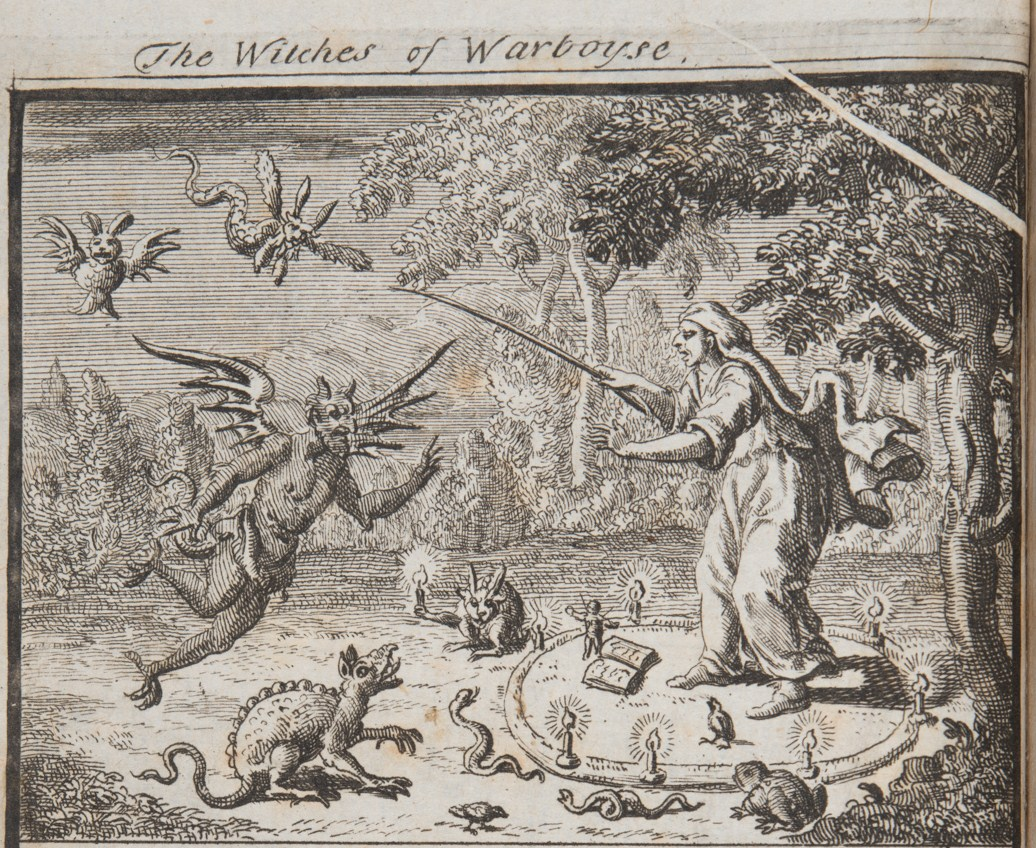 what happened to witches in the 17th century