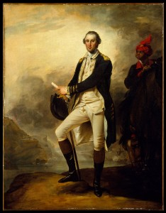 Portrait of George Washington [in Continental Army uniform] by John Trumbull (1780), oil on canvas. Bequest of Charles Allen Munn, 1924, acc. no. 24.109.88, Image Credit: Metropolitan Museum of Art.