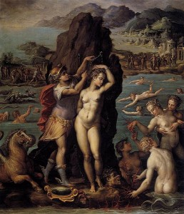 Perseus and Andromeda, by Giorgio Vasari (c. 1570). Credit: Wikipedia