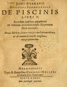 Jan Dubravius' Latin Text From Open Library
