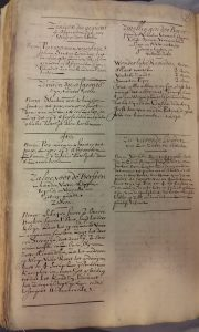 University Library Leiden, MS BPL 3603, p. 76, the last page os part 1, discussing Zee-ziekte.