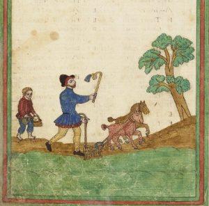 Folger MS V.b.232, folio 6 verso