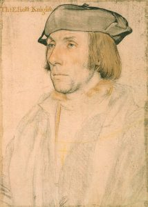 Sir Thomas Elyot by Holbein the Younger. Credit: Wikimedia Commons.