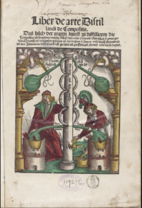 Hieronymus Brunschwig, Liber de arte distillandi de compositis (Strassburg : Johann Grüninger, 1512).  Image courtesy of the National Library of Medicine (NLM).