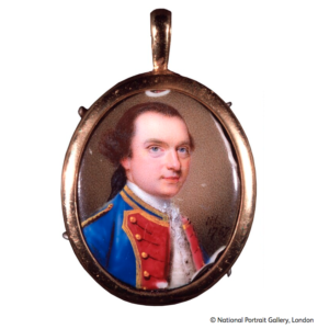 Nathaniel Hone, Philip Thicknesse, enamel on copper, 1757, NPG 4192. Image courtesy of the National Portrait Gallery, London.