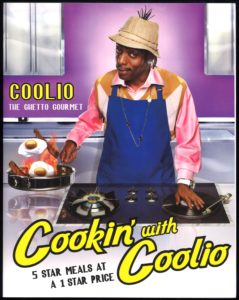 Cooking with Coolio, 2009. Image courtesy of Lupton Collection, University of Alabama Libraries