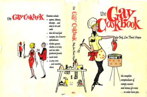 Fig. 2. Cover of Lou Rand Hogan, The Gay Cookbook (Los Angeles: Sherbourne Press, 1965). Image courtesy of CLGA.